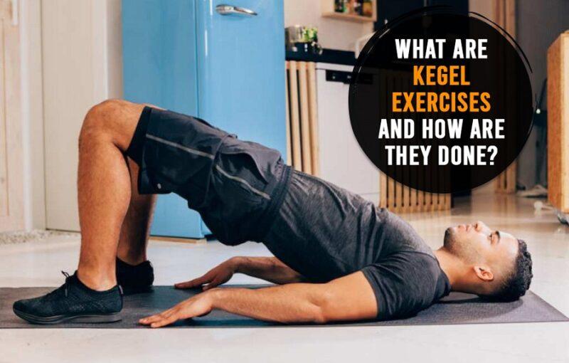 Kegel exercises, men's health, Genmedicare