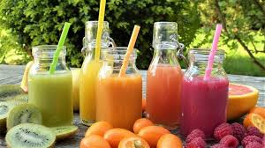 Detoxifying juices