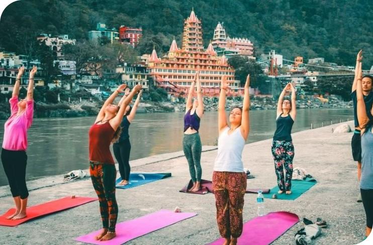 yoga retreats in india